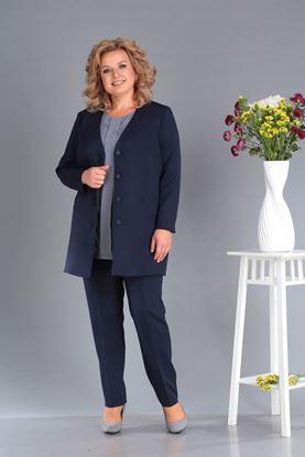 Изображение Комплект жакет, блуза и брюки  3339