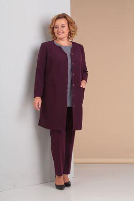 Изображение Комплект 3-х предм, жакет, блуза, брюки 3008