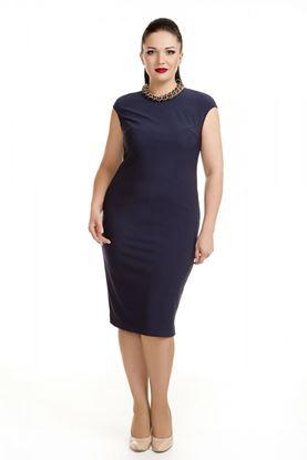 Изображение Платье 2872 темно-синее