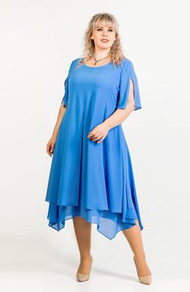 Изображение 131930 Платье голубое  145
