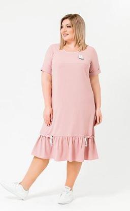 Изображение Платье 18737 розовый
