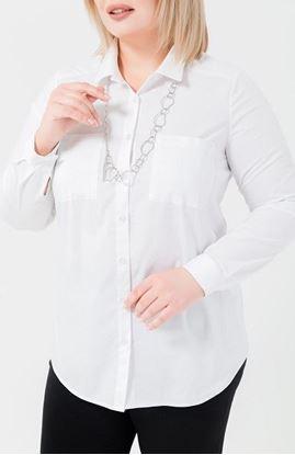 Изображение Рубашка 18772 белая