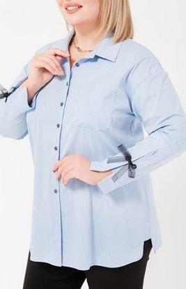 Изображение 18775 Рубашка, голубой,