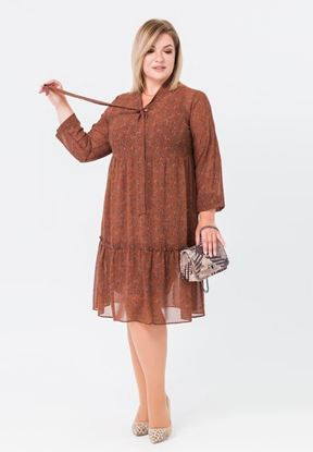 Изображение Платье 172125 коричневый
