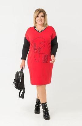 Изображение 132216  Платье, красный,